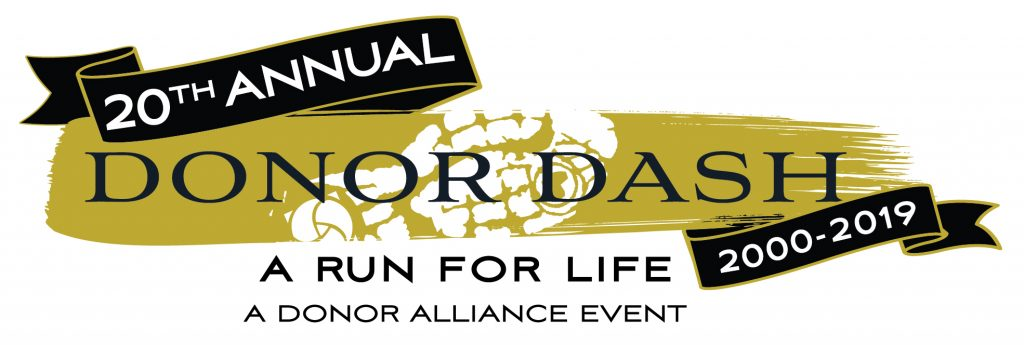 Donor Dash 2019 logo