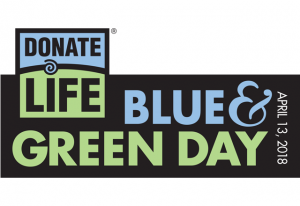 blue and green day