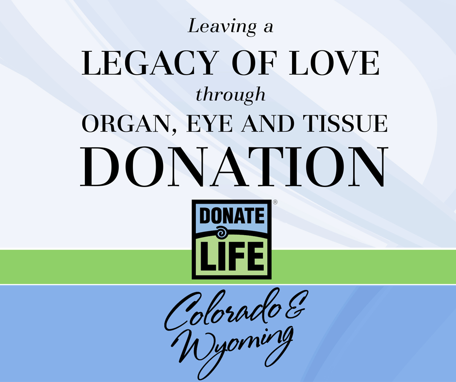 national donor sabbath donor alliance donate life colorado wyoming