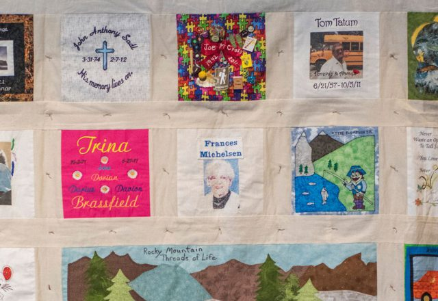 Donor Family Quilt Project