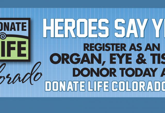 Donate Life Night with the Grand Junction Rockies