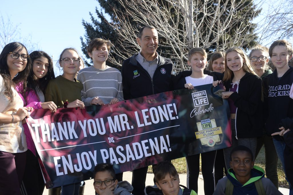 Jeff Leone Rose Parade Sendoff