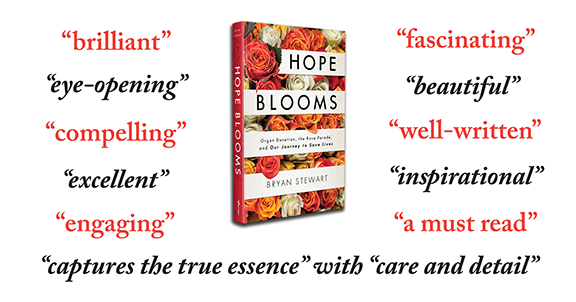 Hope Blooms advance reviews