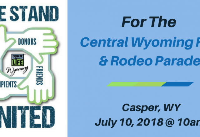 We Stand United for the Central Wyoming Fair & Rodeo Parade