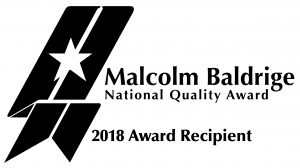 Baldrige Award Recipient 2018