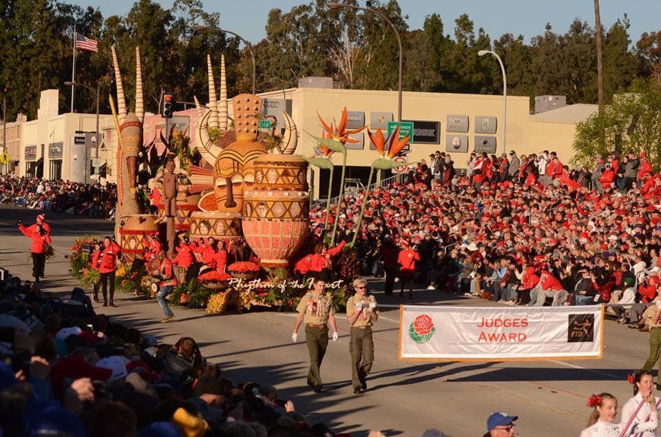 Donate Life Rose Parade float wins Judges Award