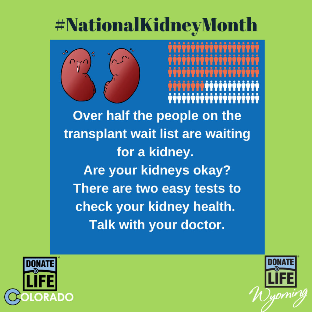 National Kidney Month