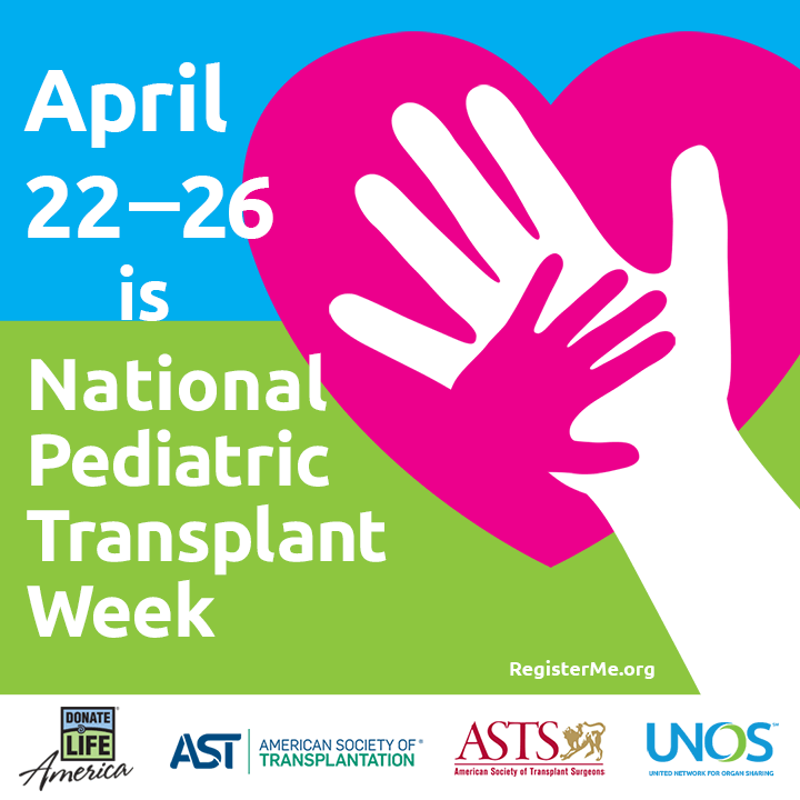 National Pediatric Transplant Week