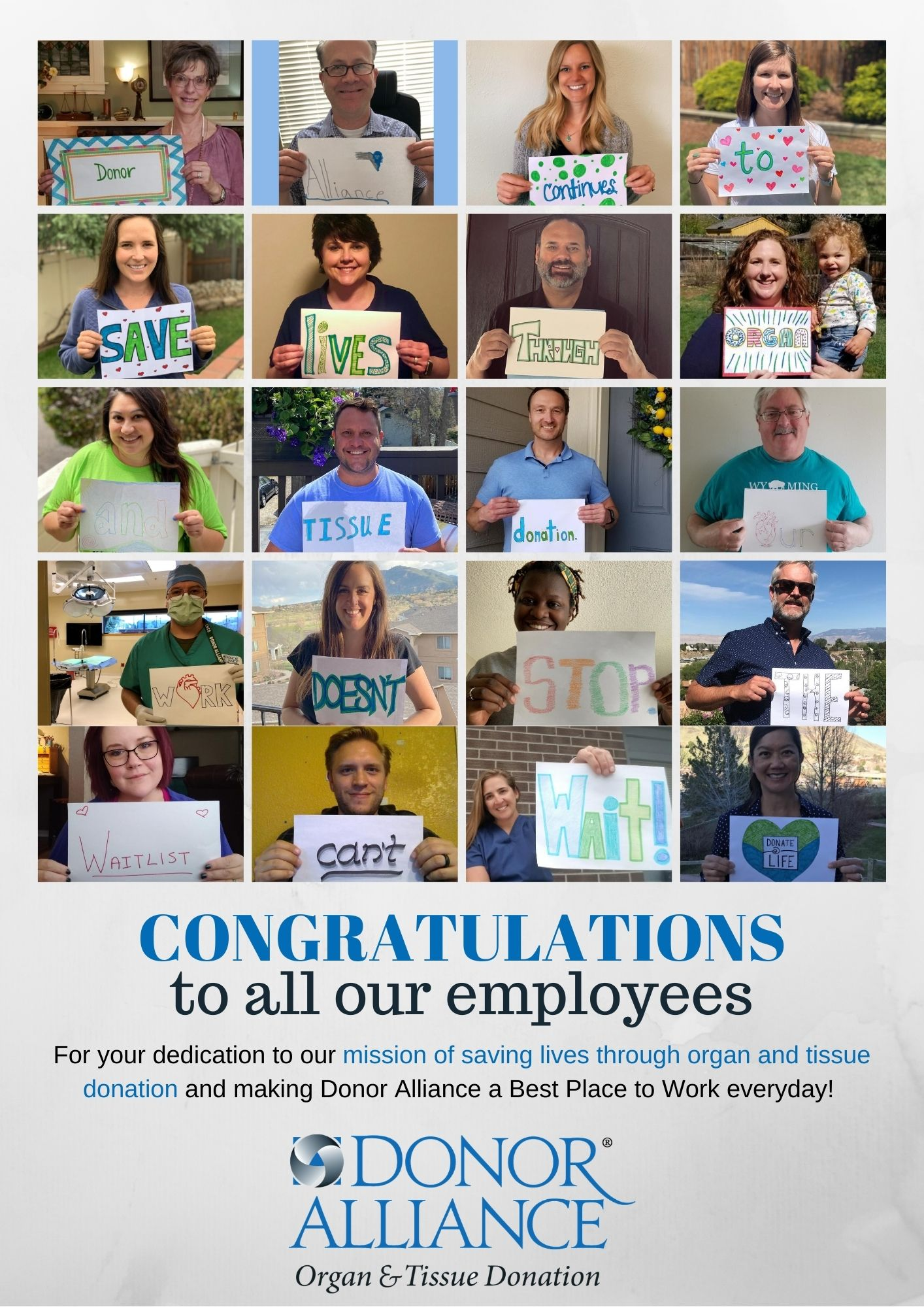 DBJ Best Place to Work Congrats Employees